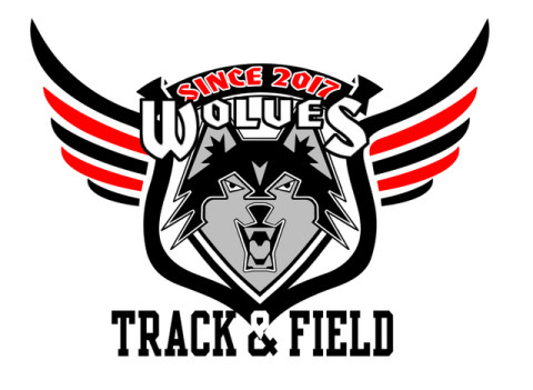 Wolves Track & Field logo