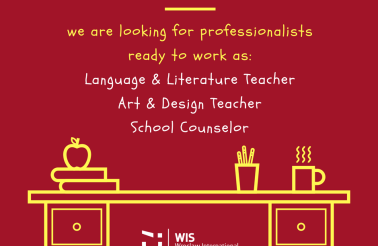 WIS Teacher Advert - June 2018