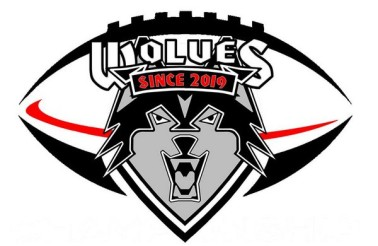 logo Wolves Athletic Program Flag football WIS