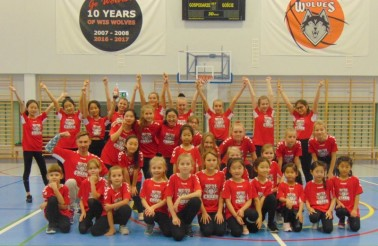 cheerleaders ATUT Wolves Program Sportowy