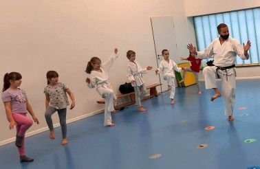 Mini Karate Sport Club Wolves Athletic Program