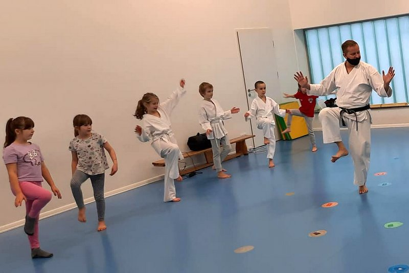 Mini Karate Sport Club Wolves Athletic Program