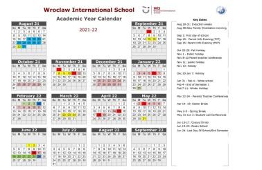 WISAcademicCalendar2021-22 v1
